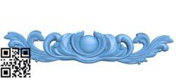 Pattern decor design A006376 download free stl files 3d model for CNC wood carving