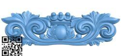 Pattern decor design A006377 download free stl files 3d model for CNC wood carving