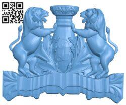 Pattern decor design A006378 download free stl files 3d model for CNC wood carving