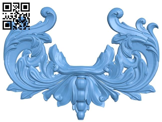Pattern decor design A006379 download free stl files 3d model for CNC wood carving