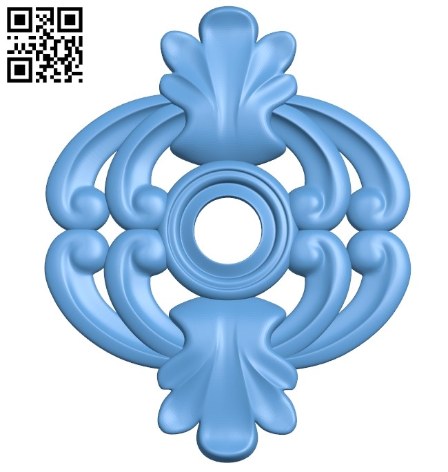 Pattern decor design A006460 download free stl files 3d model for CNC wood carving