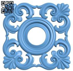 Pattern decor design A006462 download free stl files 3d model for CNC wood carving