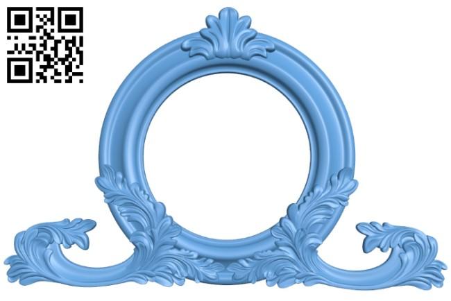 Pattern decor design A006465 download free stl files 3d model for CNC wood carving
