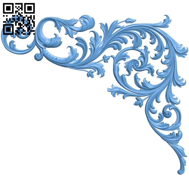 Pattern in the corner A006314 download free stl files 3d model for CNC wood carving
