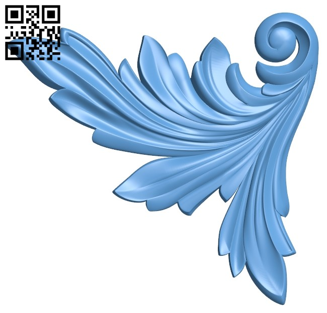 Pattern in the corner A006315 download free stl files 3d model for CNC wood carving