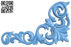 Pattern in the corner A006318 download free stl files 3d model for CNC wood carving