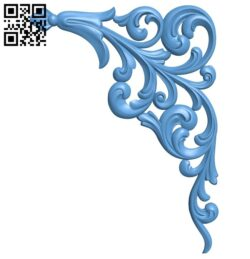 Pattern in the corner A006319 download free stl files 3d model for CNC wood carving