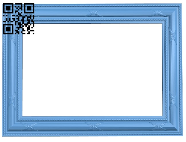 Picture frame or mirror A006322 download free stl files 3d model for CNC wood carving