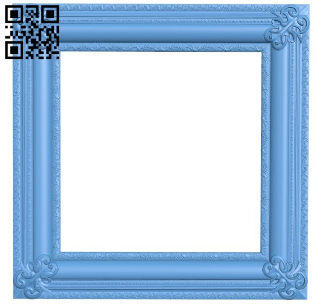 Picture frame or mirror A006323 download free stl files 3d model for CNC wood carving