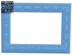 Picture frame or mirror A006431 download free stl files 3d model for CNC wood carving