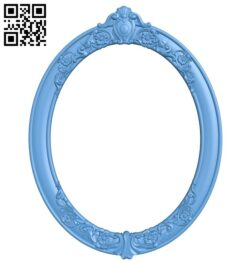 Picture frame or mirror A006432 download free stl files 3d model for CNC wood carving