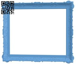 Picture frame or mirror A006435 download free stl files 3d model for CNC wood carving