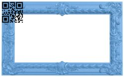 Picture frame or mirror A006436 download free stl files 3d model for CNC wood carving