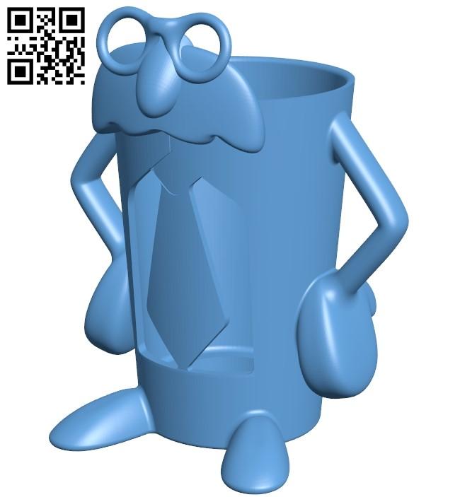 Professor pint B009460 file obj free download 3D Model for CNC and 3d printer