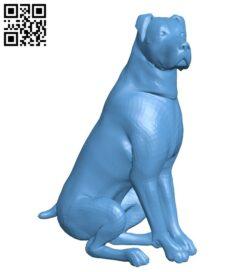 Rottweiler – dog B009394 file obj free download 3D Model for CNC and 3d printer
