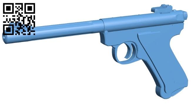 Ruger Mk IV - gun B009474 file stl free download 3D Model for CNC and 3d printer