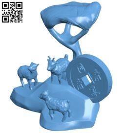 Sang yang kai tai B009521 file stl free download 3D Model for CNC and 3d printer