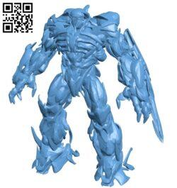 Shockwave B009517 file stl free download 3D Model for CNC and 3d printer