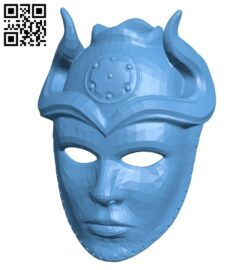 Sons of the Harpy Mask B009427 file obj free download 3D Model for CNC and 3d printer