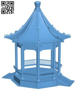 Summer house B009488 file stl free download 3D Model for CNC and 3d printer