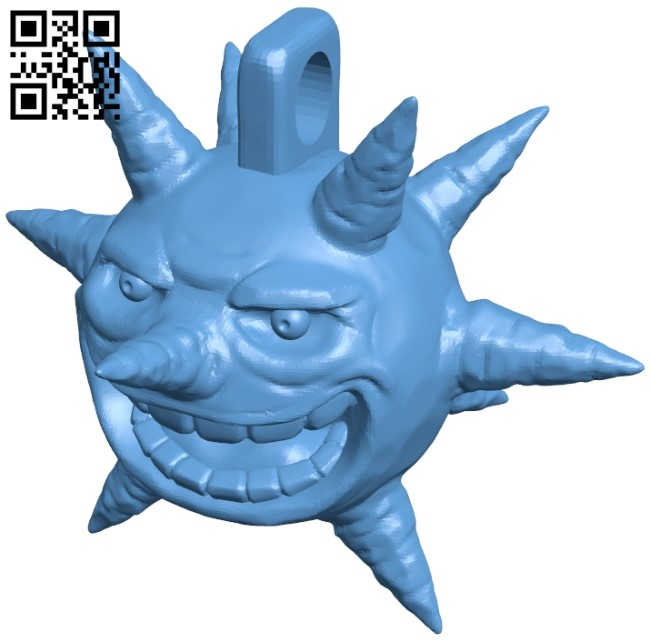 Sun with Ring B009416 file obj free download 3D Model for CNC and 3d printer