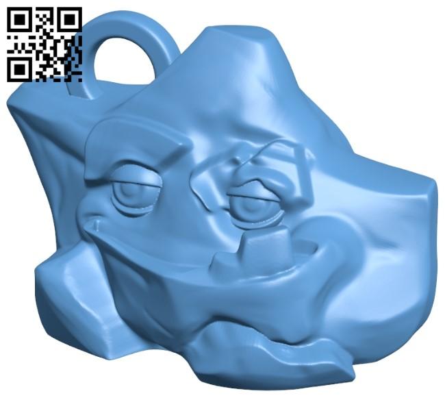 Tipper Reward 'You Rock' - Evavoo pendant B009457 file obj free download 3D Model for CNC and 3d printer