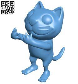 Tiz Cat B009509 file stl free download 3D Model for CNC and 3d printer
