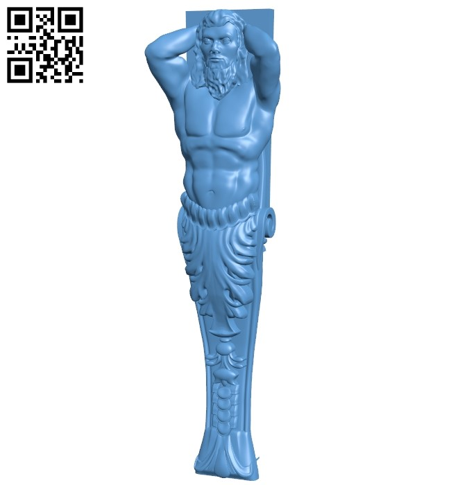 Top of the column A006362 download free stl files 3d model for CNC wood carving