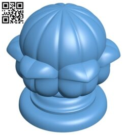 Top of the column A006380 download free stl files 3d model for CNC wood carving