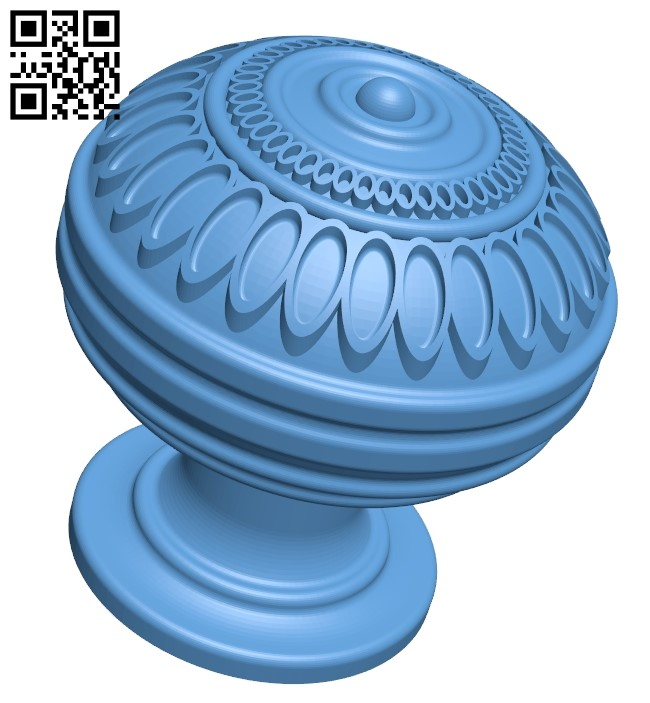 Top of the column A006416 download free stl files 3d model for CNC wood carving