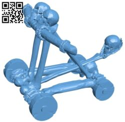 Undead catapult B009505 file stl free download 3D Model for CNC and 3d printer