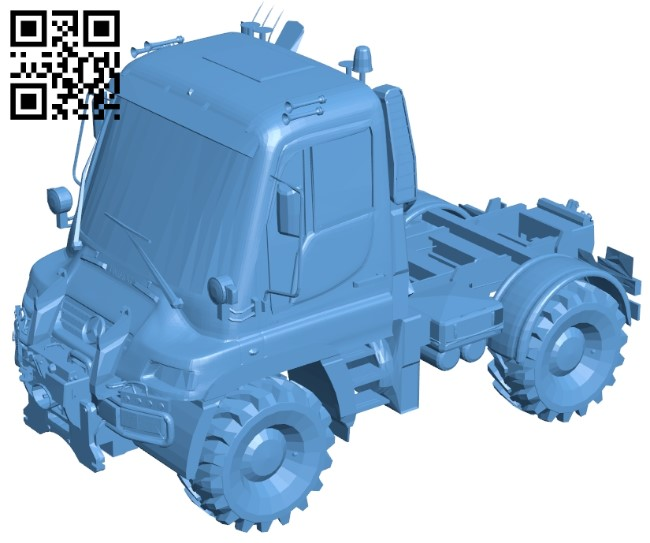 Unimog U400 - Truck B009518 file stl free download 3D Model for CNC and 3d printer