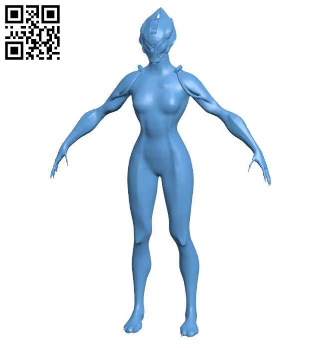 Valkyrie B009459 file obj free download 3D Model for CNC and 3d printer