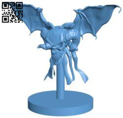 Vargouile B009466 file obj free download 3D Model for CNC and 3d printer