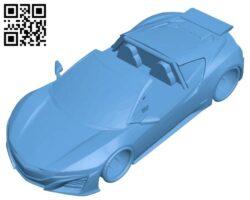 Venom gt – car B009483 file stl free download 3D Model for CNC and 3d printer