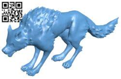 Wolf Sculpt B009504 file stl free download 3D Model for CNC and 3d printer