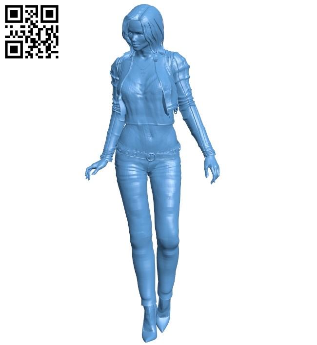 Woman B009476 file stl free download 3D Model for CNC and 3d printer