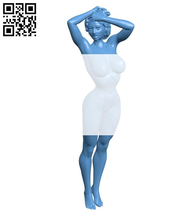 Women B009387 file obj free download 3D Model for CNC and 3d printer