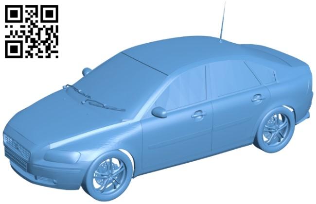 Car Volvo S40 B009591 file stl free download 3D Model for CNC and 3d printer