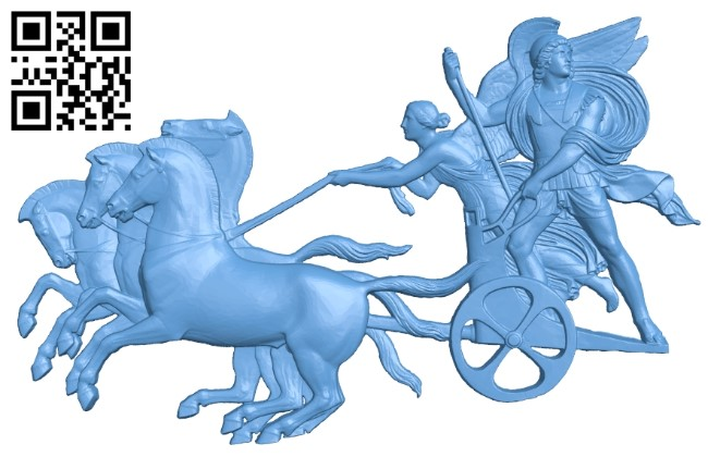 Chariot A006501 download free stl files 3d model for CNC wood carving