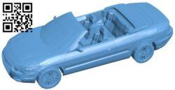 Chrysler Sebring – car B009607 file stl free download 3D Model for CNC and 3d printer