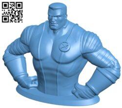 Colossus – superhero B009602 file stl free download 3D Model for CNC and 3d printer
