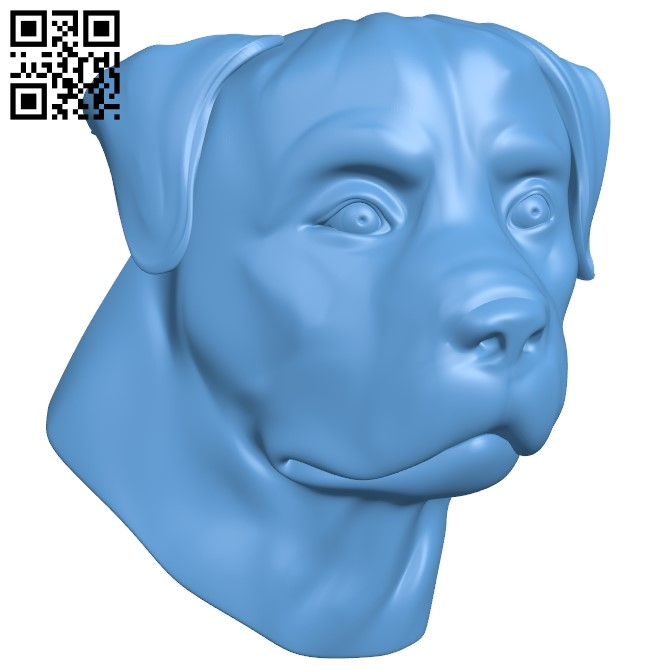 Dog A006503 download free stl files 3d model for CNC wood carving