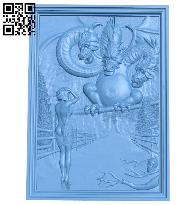 Far Far Away kingdom A006499 download free stl files 3d model for CNC wood carving