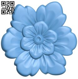 Flower pattern A006512 download free stl files 3d model for CNC wood carving
