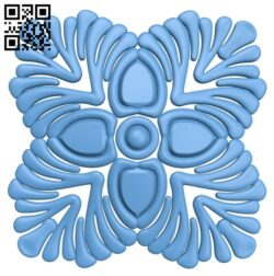 Flower pattern A006519 download free stl files 3d model for CNC wood carving