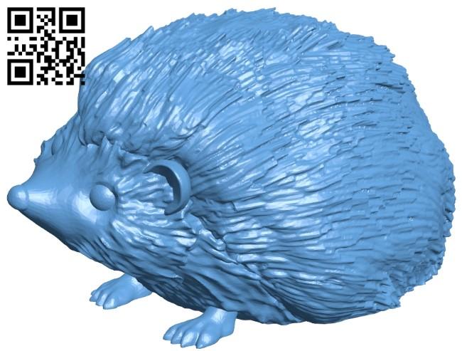 Hedgehog B009559 file stl free download 3D Model for CNC and 3d printer