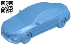 Mercedes CLA 45 – car B009609 file stl free download 3D Model for CNC and 3d printer