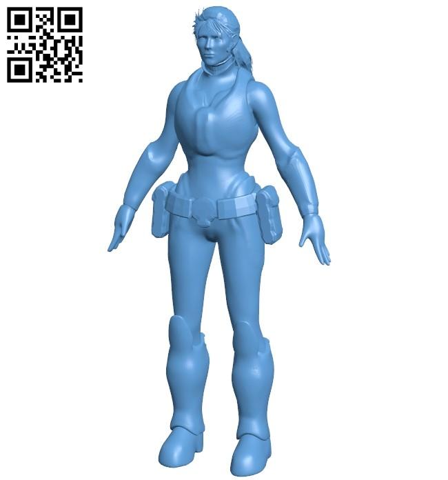 Miss Sofia Hendrik - robot B009583 file stl free download 3D Model for CNC and 3d printer