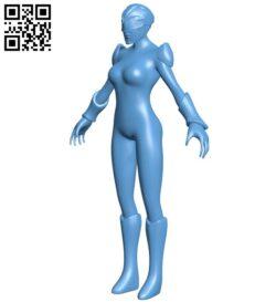 Miss Trini Kwan B009543 file stl free download 3D Model for CNC and 3d printer